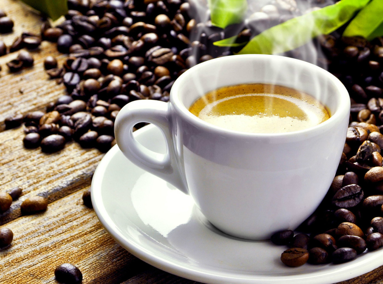 Pleasing Aroma Cup of Coffee